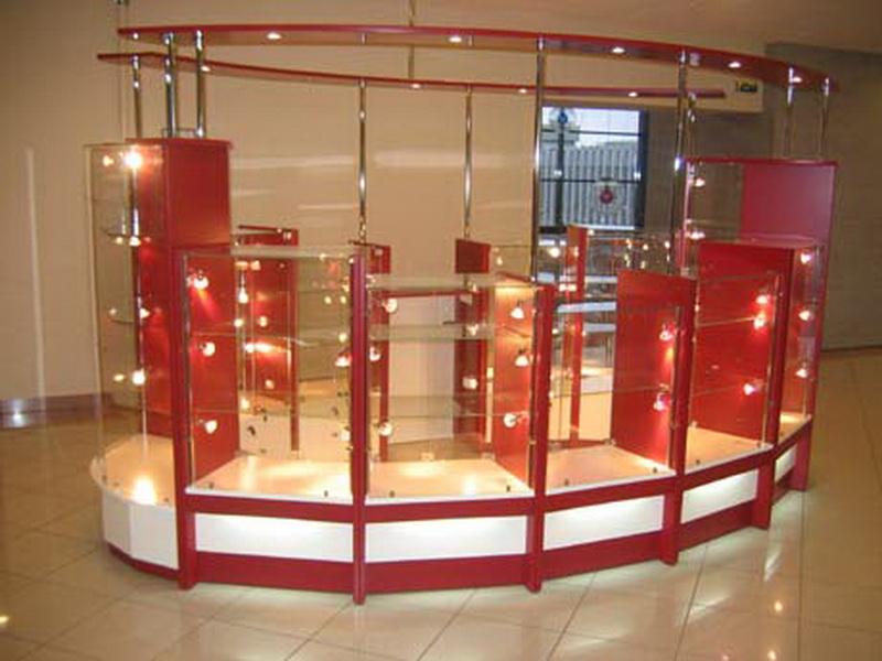 Торговая мебель для магазинов прилавки ,витрины, торговые шкафы ,стеллажи,